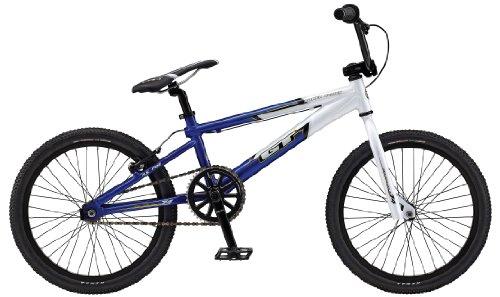 GT Power Series Pro BMX Bike White/Blue 20″ | beemex