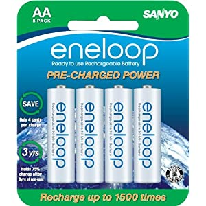 Eneloop Batteries for Adventure Racing