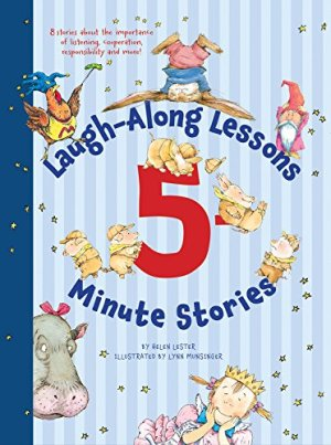 Laugh-Along Lessons 5-Minute Stories by Helen Lester | Featured Book of the Day | wearewordnerds.com