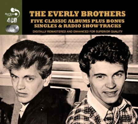 5 Classic Albums - Everly Bros., Phil Everly, Don Everly, Mr. Media Interviews