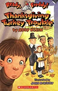 """Cover of """"Thanksgiving Turkey Trouble (Re..."""