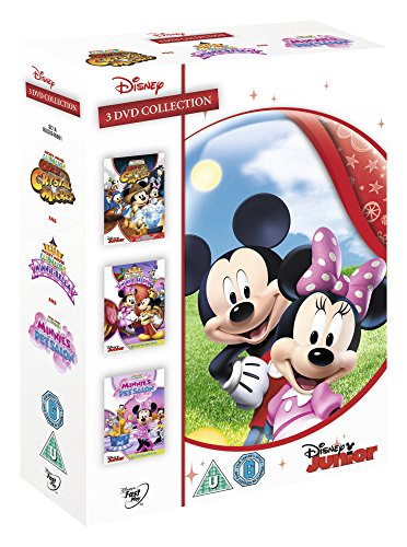 Mickey Mouse Clubhouse Triple Pack (Dvd Import) (European Format - Region 2)