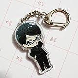 Anime Double-sided Design Acrylic KeyChain Key Ring Phone Charm Strap AK01B (B)