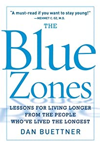 """Cover of """"The Blue Zones: Lessons for Liv..."""