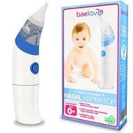 Premium Nasal Aspirator by BaeLove for Babies of All Ages-Quick and Safe - Removes Boogers & Mucus Conveniently - FDA Approved. Includes 2 Adjustable Soft Tips, Manual & 1 Yr No Hassle Warranty.