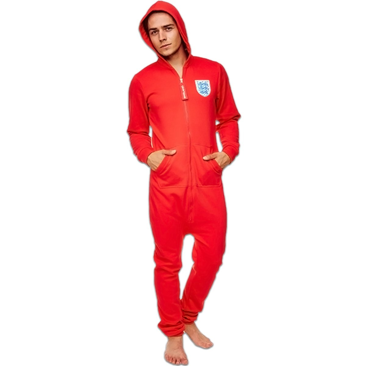 Groovy UK Ltd Men's England 66 Football Onesie