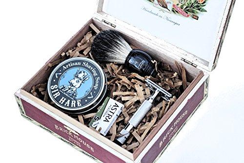 Sir Hare Shaving Kit - Great gift set for men especially ...