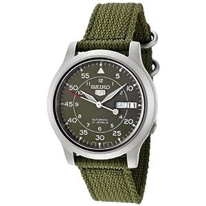 Seiko 5 Auto Mil Watch