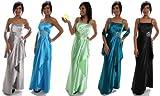 Modell 2108 Abendkleid lang, Träger, Strass