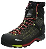 Salewa Men's Snow Trainer Insulated GTX Winter Trekking Boot,Smoke/Red,12 M US