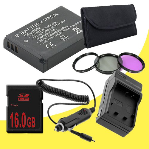 Mini HDMI for Canon EOS Rebel T2i T3i Digital SLR Camera DavisMAX Bundle TWO LP-E8 Lithium Ion Replacement Batteries w//Charger 8GB SDHC Memory Card