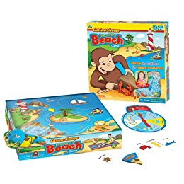 Product Image Curious George Discovery Beach Game