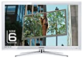 Samsung UE46C6710 116,8 cm (46 Zoll) LED-Backlight-Fernseher (Full-HD, 100Hz, DVB-T/-C/-S2) kristallweiß