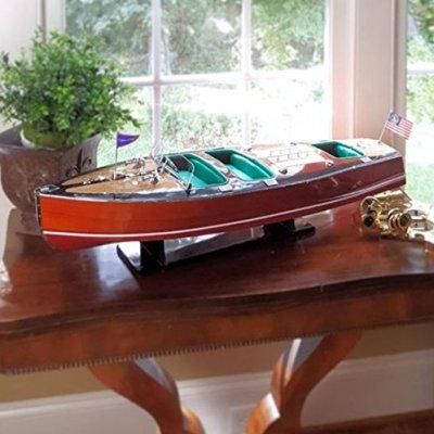 Chris-Craft-Triple-Cockpit-Speedboat-32-Wood-Model