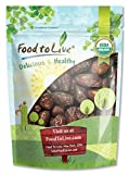 Food To Live ® Organic Medjool Dates (2 Pounds)