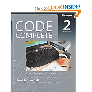 Code Complete, Book Cover
