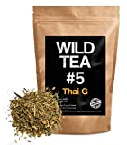 Organic Rooibos Tea with Ginger, Lemongrass and Lime, Wild Tea #5 Loose Leaf Tea, Thai G (1 ounce)
