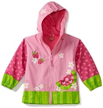 Stephen Joseph Little Girls Peace Rain Coat