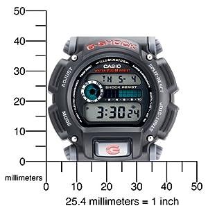 jam tangan Casio Men's DW9052-1V G-Shock Classic Digital Watch
