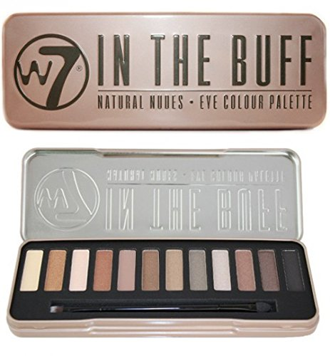 W7 - 'In The Buff' Natural Nudes Eye Colour Palette