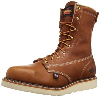 """Thorogood Men's American Heritage 8"""" Safety Toe Boot,Tobacco Gladiator,13 D US"""