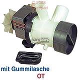 Ablaufpumpe Spaltmotor OT 90 Watt Linkslauf Waschmaschine AEG Lavamat  INTERFUNK RONDO ELECTROLUX 899645430540