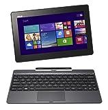 ASUS T100TAシリーズ NB / gray ( WIN8.1 32bit / 10.1inch touch / Z3740 / 2G / 32G + 500GB / Home&Biz / JISキーボード ) T100TA-DK532GS