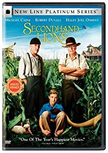 """Cover of """"Secondhand Lions (New Line Plat..."""