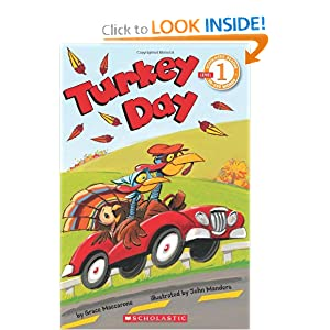 Turkey Day By Grace Maccarone Bed Tick Tock Toes Clock Stretch Yawn House Rooftop Partners Bike Pedaling Car W Pool Noodle Steering Wheel