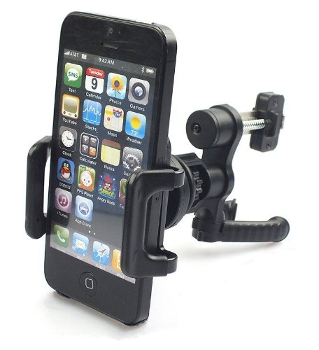 HIOTECH Premium New Universal Car Air Vent Mount Holder Stand for iPhone 5 4 4S