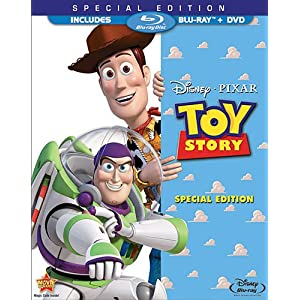 Toy Story (Two-Disc Special Edition Blu-ray/DVD Combo w/ Blu-ray Packaging)