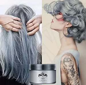 generic white light gray hair cream color easy temporary diy super dye online at low