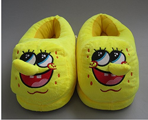 Fatflyshop - Spongebob Squarepants Cartoon Plush Indoor Bedroom Winter Warm Slipper 11