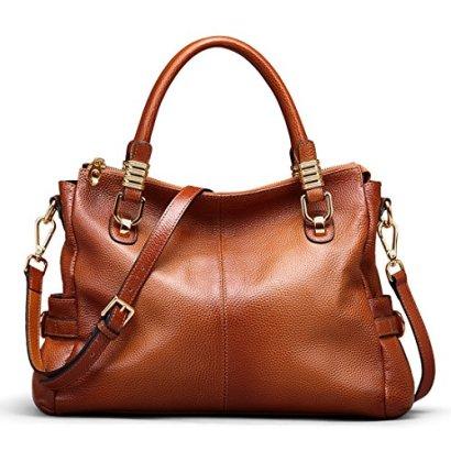 AINIMOER-Womens-Vintage-Genuine-Leather-Tote-Shoulder-Bag-Top-handle-Crossbody-Handbags-Ladies-Purse