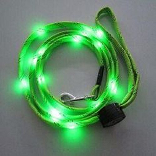 #1 UNIQUE GIFT GIVING IDEA Light Up Dog Leash - LED Dog Leash - Reflective Dog Leash - Dog Leash with Light - Lighted Leashes for Dogs