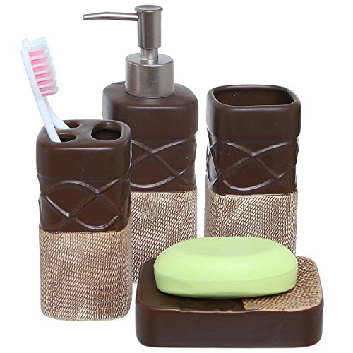 Best bathroom soap dispenser set for sale 2017 giftvacations for Toilet accessories sale