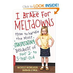 I Brake for Meltdowns: How to Handle the Most Exasperating Behavior of Your 2- to 5-year-old