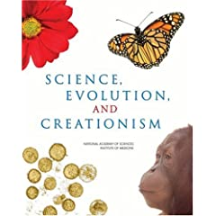 Cover of NAS book, Science, Evolution and Creationism