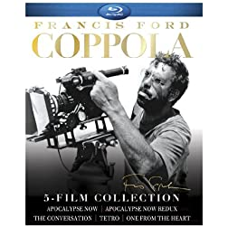 Francis Ford Coppola: 5-Film Collection (Apocalypse Now/Apocalypse Now Redux/One From the Heart/Tetro/The Conversation) [Blu-ray]
