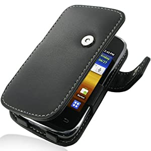 Amazon.com: PDair Leather Case for Samsung Galaxy Y Duos ...