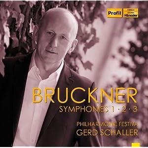 ブルックナー: 交響曲集 ライヴ 第2弾 (Bruckner : Symphonies 1・2・3 / Philharmonie Festiva, Gerd Schaller) [3CD] [輸入盤]