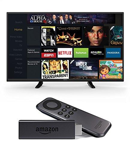 Seiki SE43FK 43-Inch 1080p 60Hz LED TV and Amazon Fire TV Stick