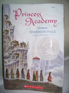Princess Academy by Shannon Hale  wearewordnerds.com