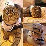 Vedem Small Dog Cat Puppy Adjustable Outfit Costume Hat & Cape 2pcs (Sailor)