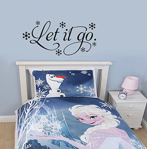 ... It Go Frozen Inspired Wall Decal Sticker ...