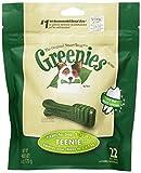 GREENIES Original Canine Dental Chews - TEENIE Treats Size - Mini TREAT-PAK Package (6 oz.) - 22 Count