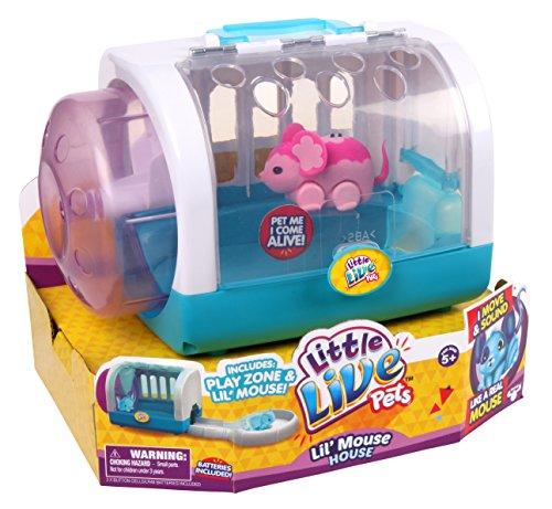 Little Live Pets Lil' Mouse House - Blossom