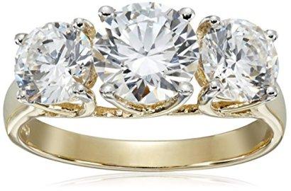 10k-Yellow-Gold-Three-Stone-Swarovski-Zirconia-Ring
