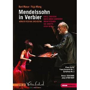 Wang Yuja, Mendelssohn, etc.