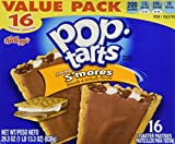 Kellogg's Pop-Tarts Frosted S'mores 16ct Box 29.3oz
